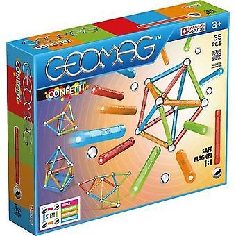 Coriandoli di Geomag 351 - 35 pz giocattoli
