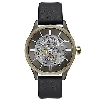 Kenneth Cole New York men's watch automatic leather KC15171004
