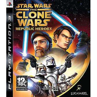 Star Wars The Clone Wars - Republic Heroes PS3 Game