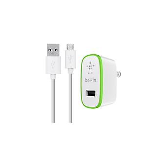 Belkin Wall Charger Micro_USB Cable 2.1 (A) 1.2 M white