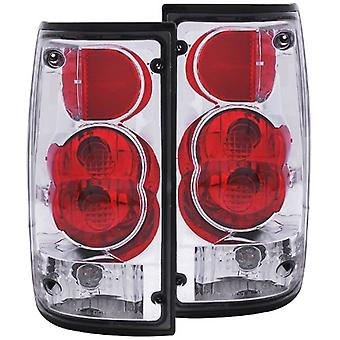 Anzo USA 211130 Toyota Pickup Red/Clear Tail Light Assembly - (Sold in Pairs)