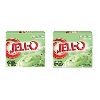 Jell-O Pistachio Instant Pudding Dessert Mix 2 Box Pack