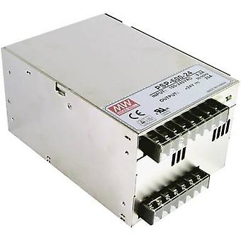 AC/DC PSU module (+ enclosure) Mean Well PSP-600-12 12 Vdc 50 A