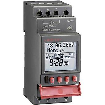 Müller SC 28.11 pro DIN rail montaje temporizador digital 12 VCC, 12 V AC 16 A/250 V
