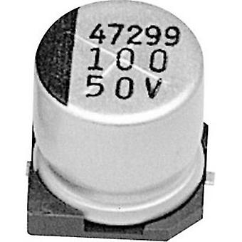 Samwha RC1H105M04005VR Electrolytic capacitor SMD 1 µF 50 V 20 % (Ø x H) 4 mm x 5 mm 1 pc(s)