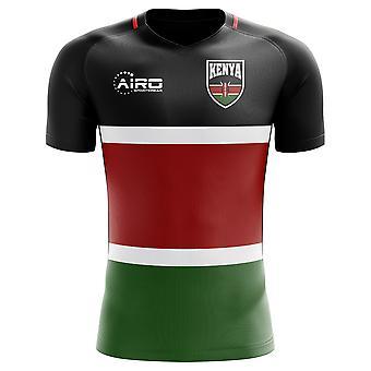 2018-2019 Kenia Wohnkonzept Fußballtrikot