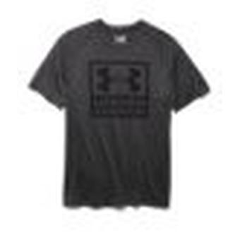 Men's T-Shirt UA tech™ boxed logo color: Carbon Heather