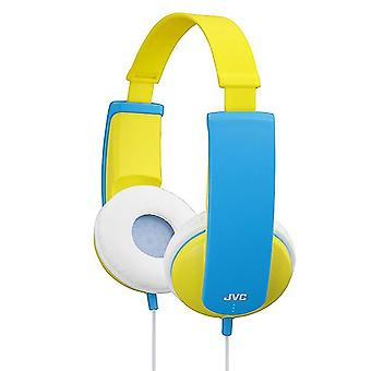 JVC HAKD5Y Tiny Phones Kids Stereo Children's Headphone - Yellow