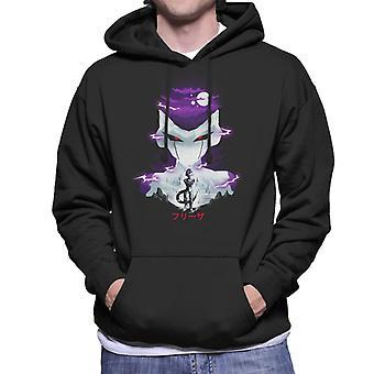 Freezer Silhouette Dragon Ball Z Männer die Kapuzen-Sweatshirt