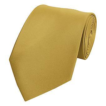 Knyta slips tie slips 8cm guld Fabio Farini