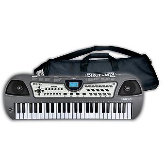 Bontempi 49 Key Digital Keyboard With Zip Up Carry Bag and USB Connection Ages 5