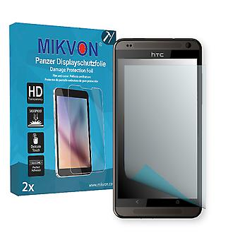 HTC Desire 700 Dual SIM Screen Protector - Mikvon Armor Screen Protector (Retail Package with accessories)