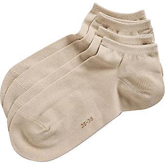 Esprit Classic Sneaker 2 Pack Socks - Cream
