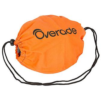 Overade fabric storage bag for Plixi bike helmet / / orange