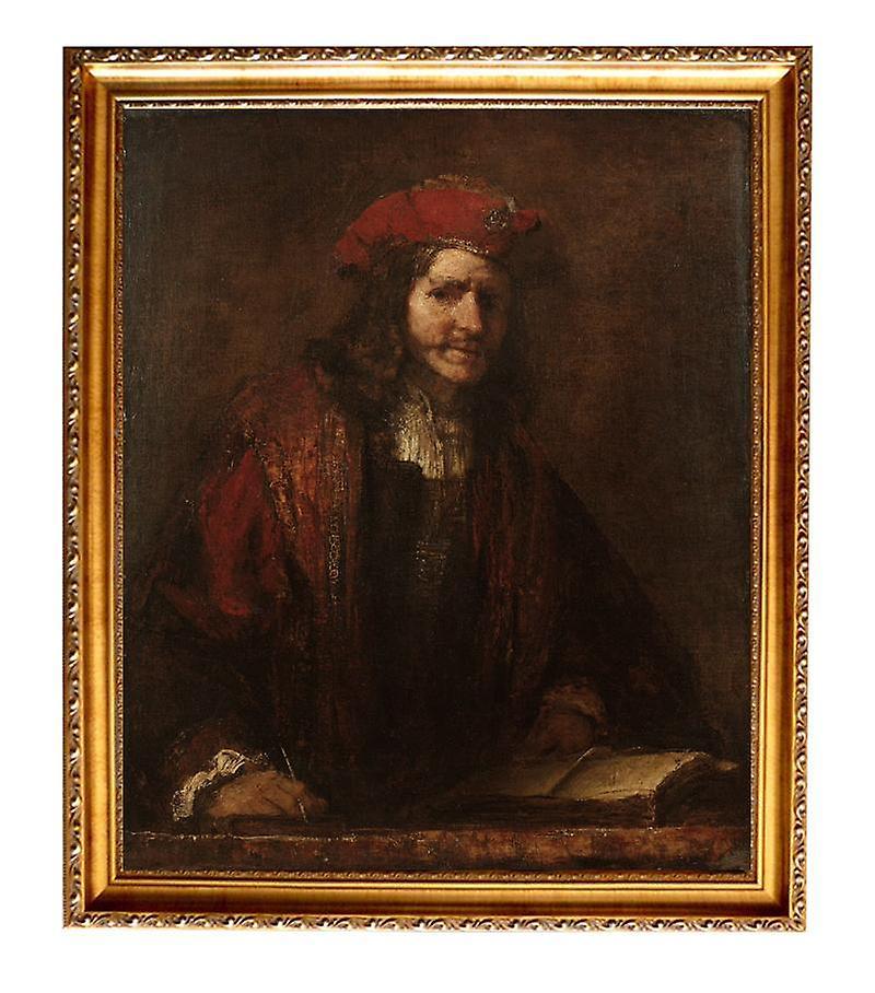 Med ram An Evangelis,REMBRANDT HarPour des hommeszoon van Rijn,60x50cm