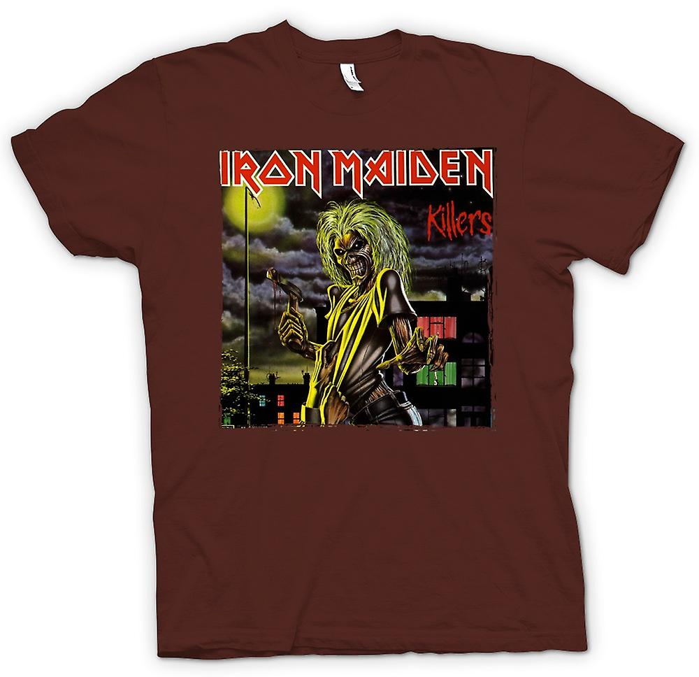 Mens T-shirt - Iron Maiden - Killers albumkunst