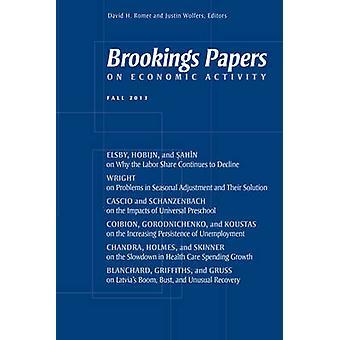 Brookings Papers på ekonomisk verksamhet - hösten 2013 av David H. Romer-