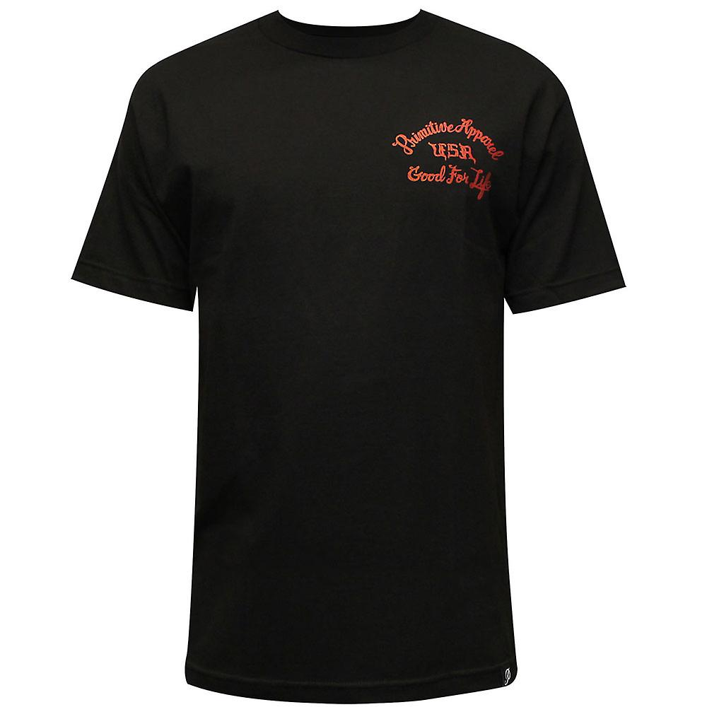 Primitive Apparel Mayhem T-Shirt Schwarz