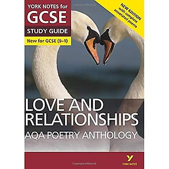 AQA Poetry Anthology - Love and Relationships: York Notes for GCSE (9-1): Second edition - York Notes