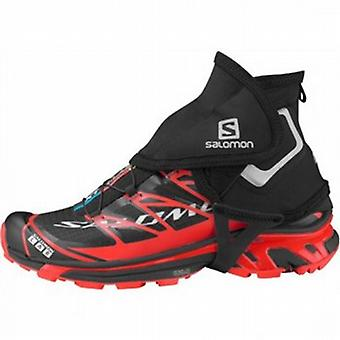 S-Lab Trail Gaiters High Black