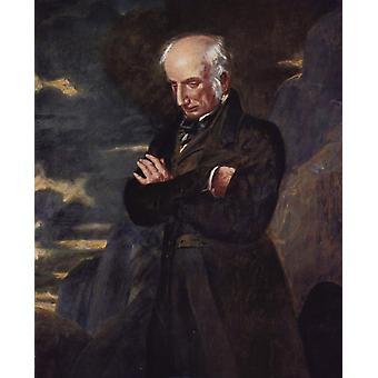 William Wordsworth,Benjamin Robert Haydon,50x40cm