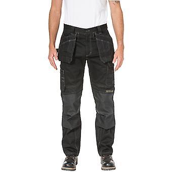 Caterpillar Mens plancher couche Flex pantalon de travail Durable