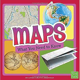 Maps: What You Need to Know (Fact Files)