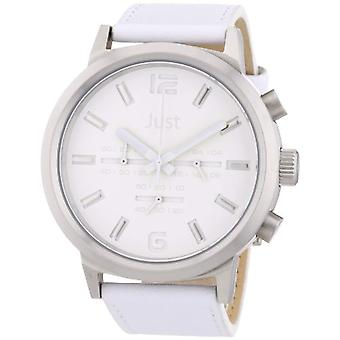 Just Watches 48-S3601WH-WH-unisex