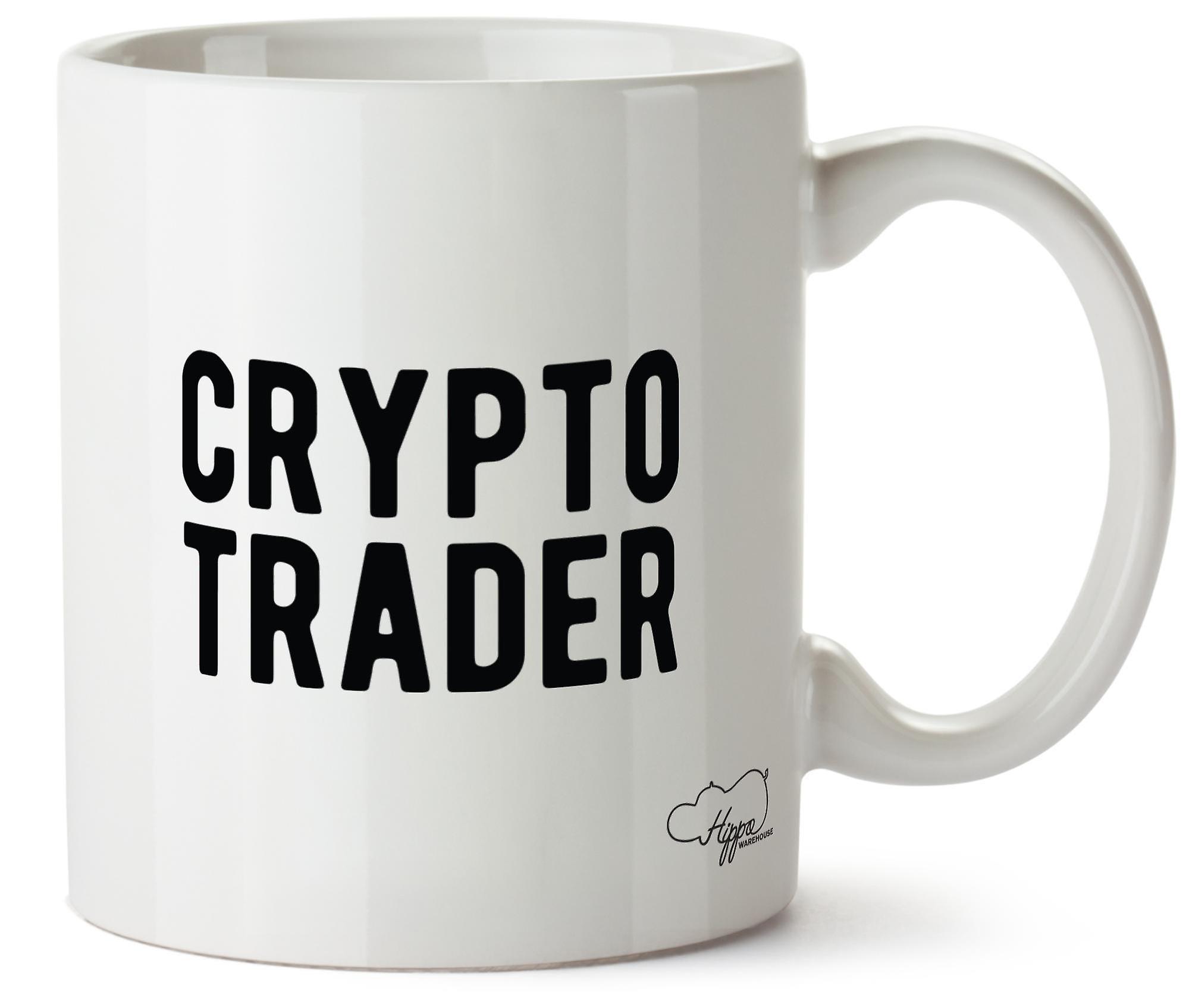 Imprimé Céramique Trader Crypto Tasse Hippowarehouse 10oz En hdBsrxtQC