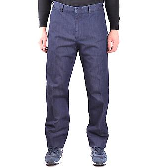 Paul & Shark Blue Cotton Pants