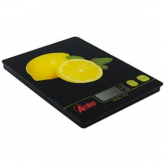 Digital kitchen scale. You ardes