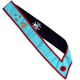 High Quality Scottish Rite AASR Blue Sash