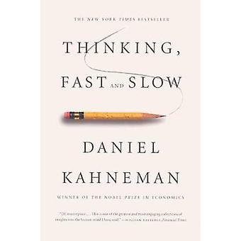 Thinking - Fast and Slow - 9780606275644 Book