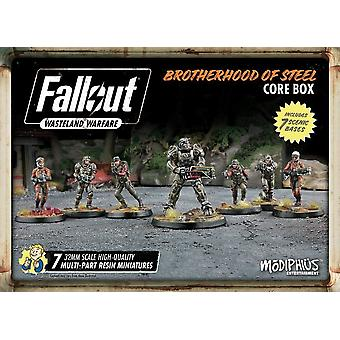 Fallout Wasteland Warfare Brotherhood of Steel Miniatures Core Box Board Game