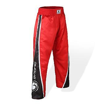 Bytomic Kids  V3 Team Kickboxing Pants Red/Black