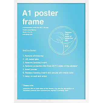 Eton białej ramki plakat A1 / drukowania ramki
