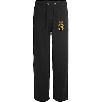 Life Guards - Licensed British Army Embroidered Open Hem Sweatpants / Jogging Bottoms