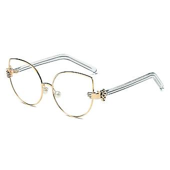 Centralia | s2042 - women metal frame cat eye hands classic sunglasses