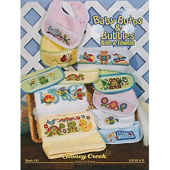 Stoney Creek Baby Burps & Bubbles Bibs & Towels Sc 435