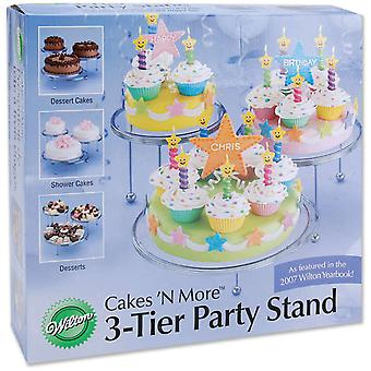 Cakes 'N More 3 Tier Party Stand W307859