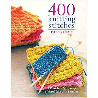 Potter Craft Books 400 Knitting Stitches Pot 62732