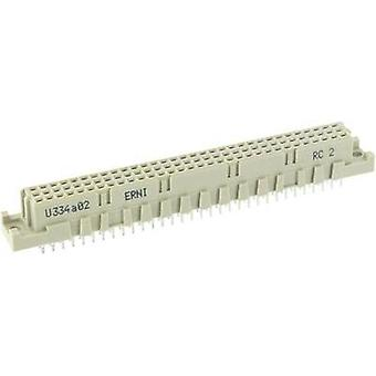 Edge connector (receptacle) 284308 Total number of pins 96 No. of rows 3 ERNI 1 pc(s)