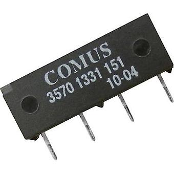 Reed relay 1 maker 12 Vdc 0.5 A 10 W SIP 4 Comus
