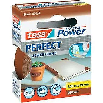 Cloth tape tesa tesa® Extra Power Brown (L x W) 2.75 m x 19 mm