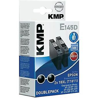 KMP Ink replaced Epson T1811, 18XL Compatible Pack of 2