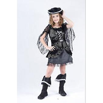 Guirca Girls Pirate Costume Child Size 7-10 years (Costumi)