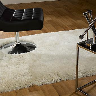 Perla alfombras en blanco