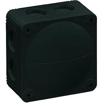 Wiska Black Wet-Room Junction Box IP66