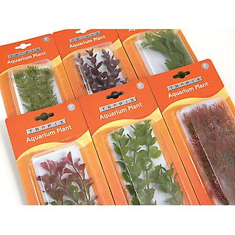 Tropix Aquarium Plants Assorted Extra Large 37cm (Pack of 6)
