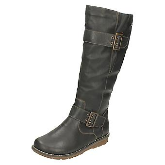 Ladies Remonte All Weather Warmlined Long Boots R1073